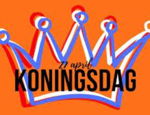 Koningsdag dinsdag 27 april is ons kantoor gesloten