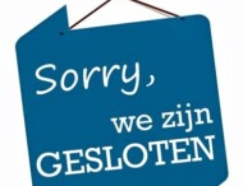 Kantoor gesloten op Hemelvaart (13 mei) en 2e Pinksterdag (24 mei)
